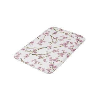 Sakura Cherry Blossom Print Bath Mat