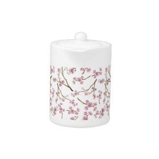Sakura Cherry Blossom Print Teapot