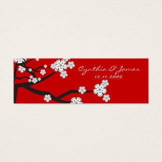 Sakura Cherry Blossoms Asian Wedding DIY Gift Tags