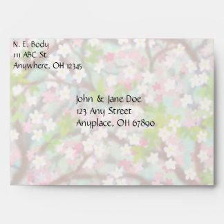 Sakura Cherry Blossoms Envelope