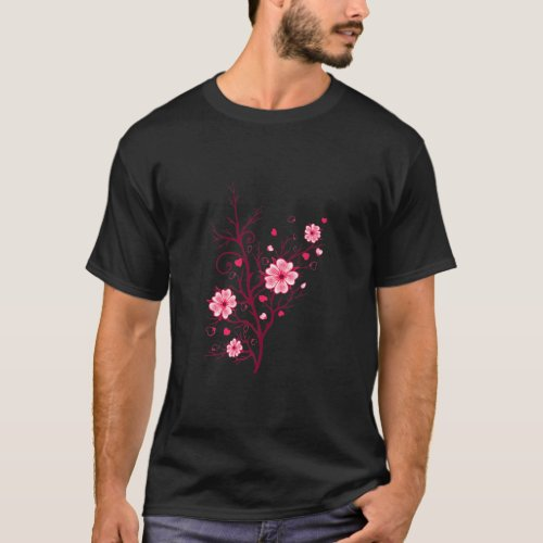 Sakura Cherry Blossoms _ Flower Festival in Japan T_Shirt