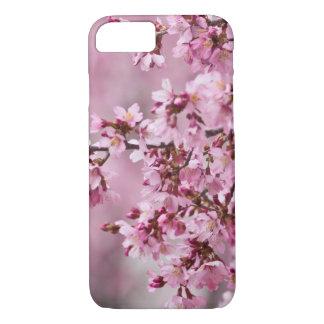 Sakura Cherry Blossoms Pastel Pink Layers iPhone 7 Case