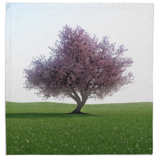 Sakura Cherry Tree in the Morning Napkin