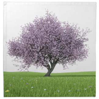 Sakura Cherry Tree Napkin