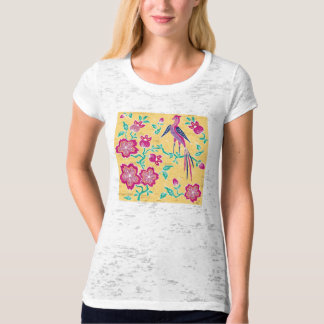 Sakura Chinese New Year Ladies T-Shirt 1