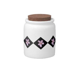 Sakura Diamonds Candy Jar