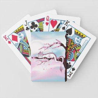 Sakura Dragon Bicycle Playing Cards