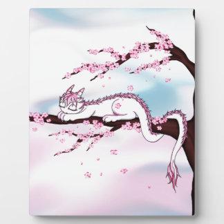 Sakura Dragon Plaque