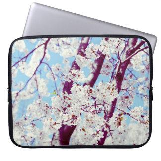Sakura - dreamy cherry tree bolssom computer sleeve