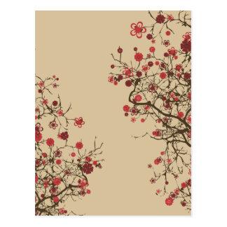 Sakura - flor de cerezo postales