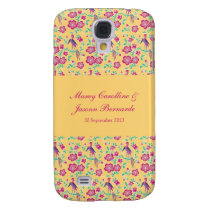 Sakura Floral Batik Wedding Case-Mate HTC