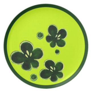 sakura flower ring plates