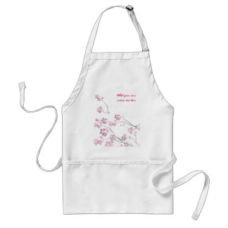 Sakura Flowers Adult Apron