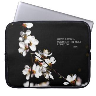 Sakura flowers computer sleeve