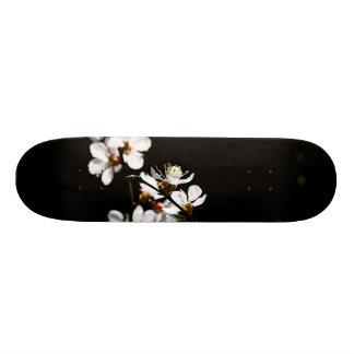 Sakura flowers skateboard