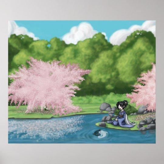 Sakura Garden Poster