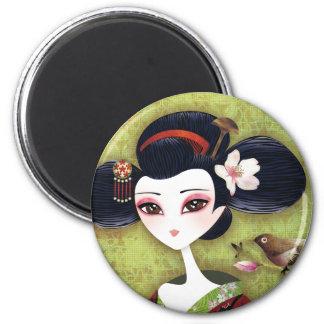 Sakura Girl Magnet