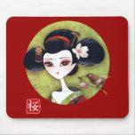 Sakura Girl Mouse Pad