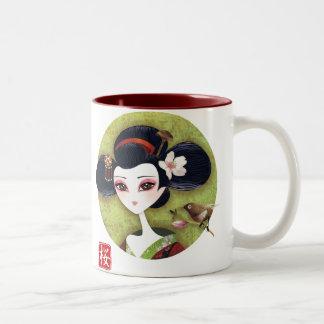 Sakura Girl Mug