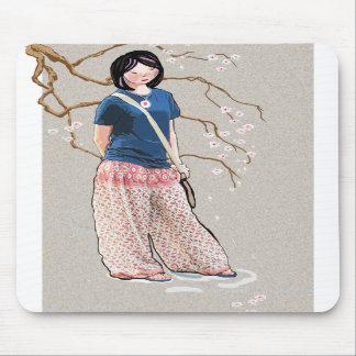 Sakura girl version 3 mouse pads