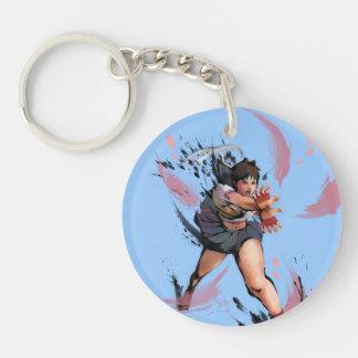 Sakura Hadoken Keychain