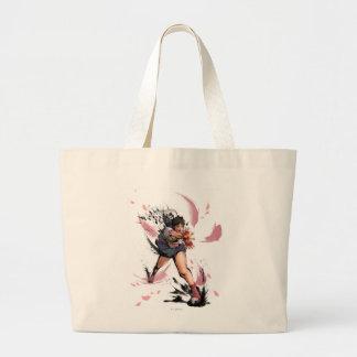 Sakura Hadoken Large Tote Bag