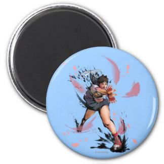 Sakura Hadoken Magnet