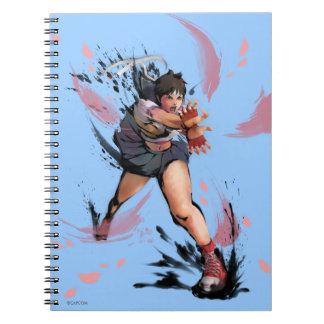 Sakura Hadoken Notebook