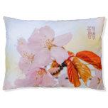 Sakura - Japanese cherry blossom Pet Bed