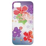 Sakura Kiomono - diseño del japonés iPhone 5 Case-Mate Cárcasa