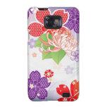 Sakura Kiomono - diseño del japonés Samsung Galaxy SII Carcasas