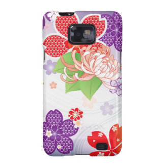 Sakura Kiomono - diseño del japonés Samsung Galaxy SII Carcasa