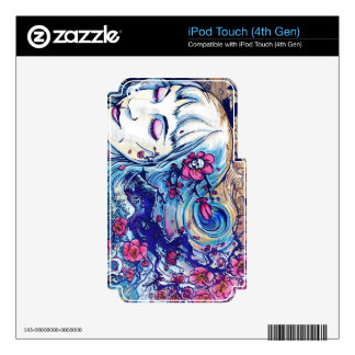 Sakura Leah Skin For iPod Touch 4G