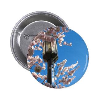 Sakura Light Pinback Button