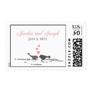 Sakura Love Birds for Jake Postage