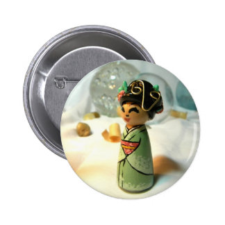 Sakura Mint I Button