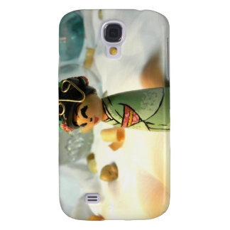 Sakura Mint I Samsung Galaxy S4 Cover