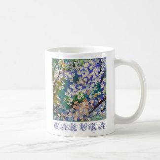Sakura Oil Painting Mug