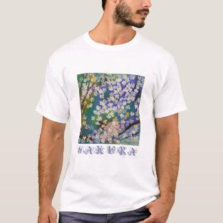 Sakura Oil Painting T-Shirt