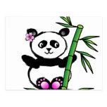 Sakura Panda Postcard
