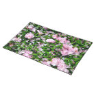 sakura petals cloth placemat