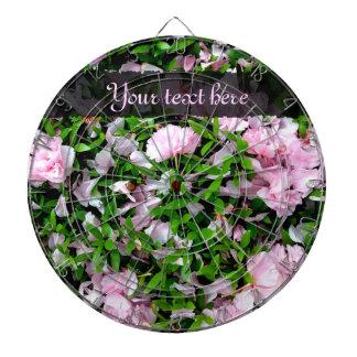 sakura petals dart board