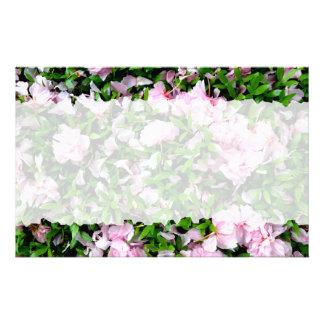 sakura petals stationery