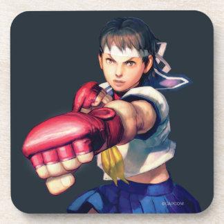 Sakura Punching Drink Coaster