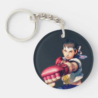 Sakura Punching Keychain