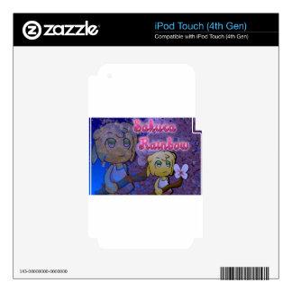 Sakura Rainbow: Pansy Skins For iPod Touch 4G