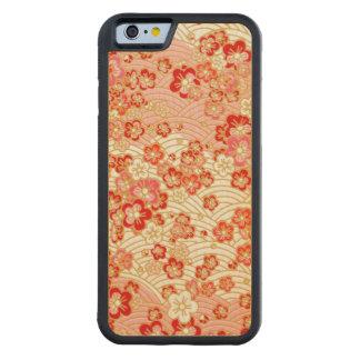 Sakura rojo funda de iPhone 6 bumper arce