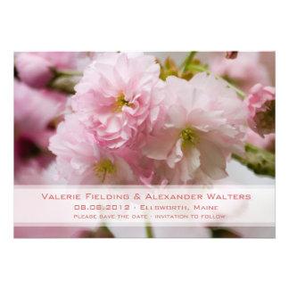 Sakura • Save the Date Announcement