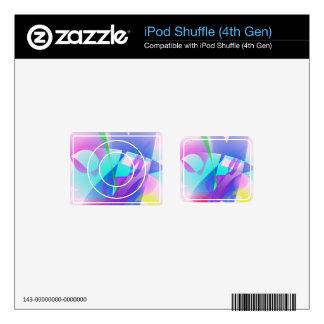 Sakura iPod Shuffle 4G Decals