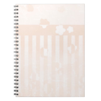 Sakura Stripes Notebook